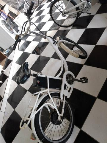 Bicicleta eletrica aceito troca f. *