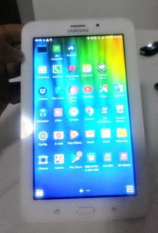 Samsung Galaxy Tab E 7 em ótimo estado, pra vende logo!