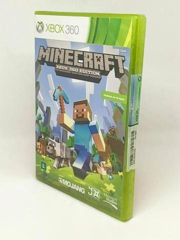 Minecraft jogo original sem uso