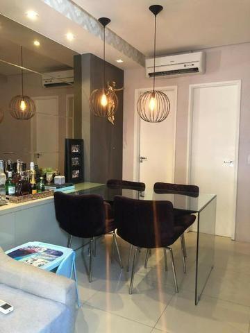 CA1572 Casa 80m² Cond. Magna Villaris 3 Qts Sendo 2 Sts Decorada, Climatizada, e Mobiliada - Foto 5