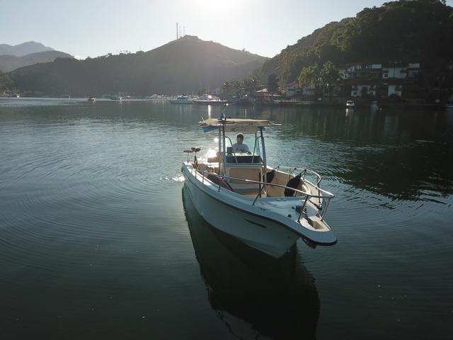Lancha Fishing 265 - Mercruiser 5.0 V8 gasolina - Impecável - Foto 5