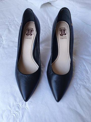 Sapato Scarpim Preto - Foto 3
