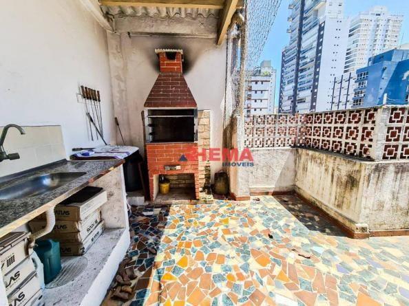 Apartamento com 3 dormitórios à venda, 146 m² por R$ 629.000,00 - Aparecida - Santos/SP - Foto 20