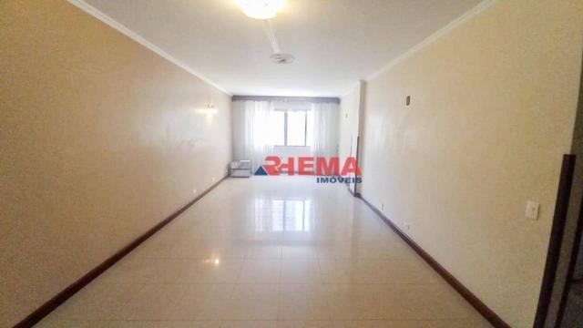 Apartamento com 3 dormitórios à venda, 146 m² por R$ 629.000,00 - Aparecida - Santos/SP - Foto 2