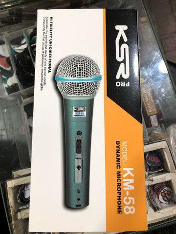 Microfone KM58 KSR pro