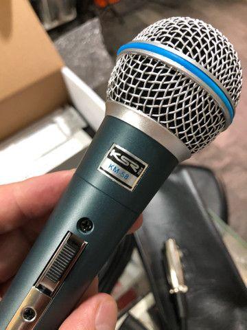 Microfone KM58 KSR pro - Foto 4