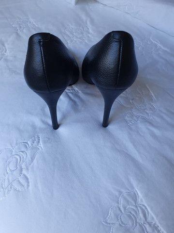 Sapato Scarpim Preto - Foto 4