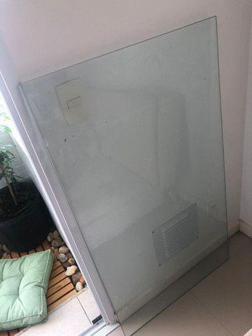 Vidro transparente 10mm temperado
