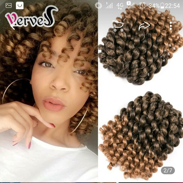 Faux locs crochê braids - Foto 2