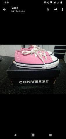 Tênis ALL star Converse Rosa  - Foto 2