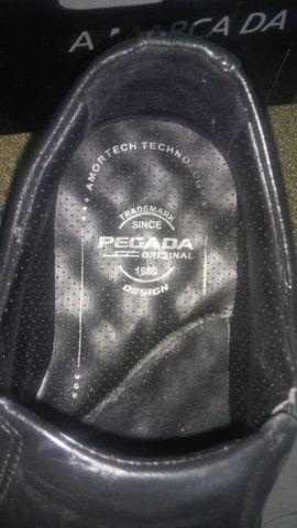 Sapato Pegada Original, Tamanho 39/40, Na loja esta R$190,00 - Foto 6