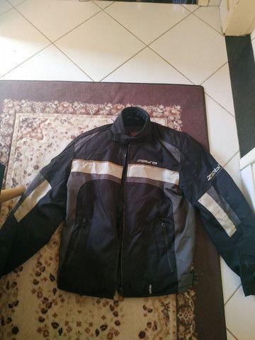 Jaqueta motociclista - Zebra - Usada - ( M ) - Foto 2