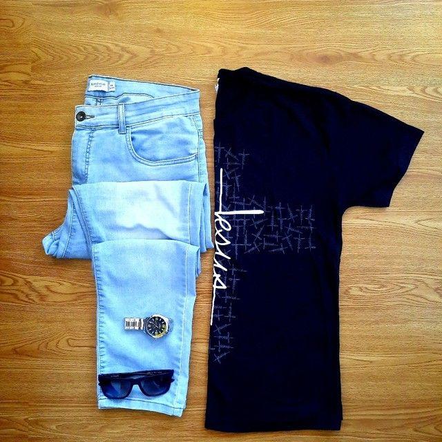 "Camisetas Evangélicas ""JESUS"" - Foto 3"