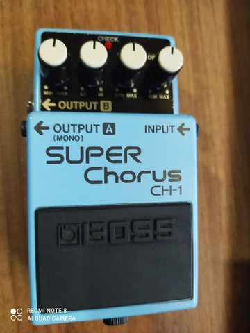 Pedal Guitarra Boss Ch1 Super Chorus