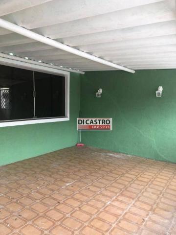 Sobrado com 4 dormitórios para alugar, 195 m² por R$ 2.000,00/mês - Rudge Ramos - São Bern - Foto 4