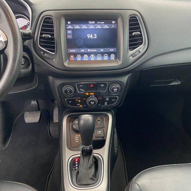 COMPASS 2018/2019 2.0 16V DIESEL LONGITUDE 4X4 AUTOMÁTICO - Foto 11
