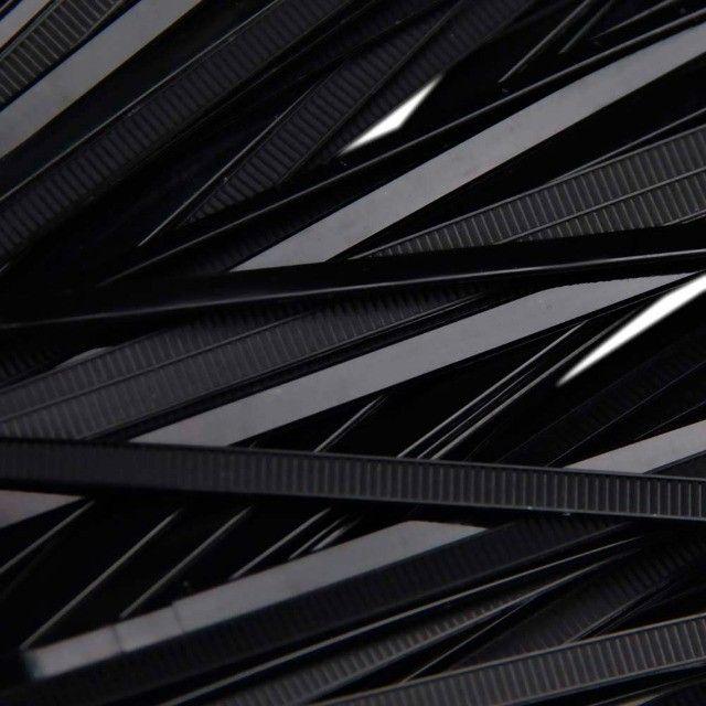 Abraçadeiras Nylon Preto 200x4,80mm - Pacote com 100 unidades - Foto 5