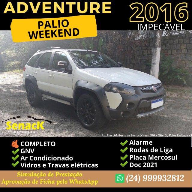 Palio Weekend Adventure 2016 GNV - Duas opçoes lindas