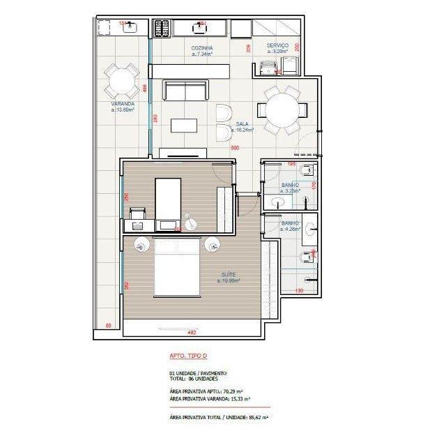 Apartamento novo com 2 quartos em São Pedro da Aldeia - Foto 9