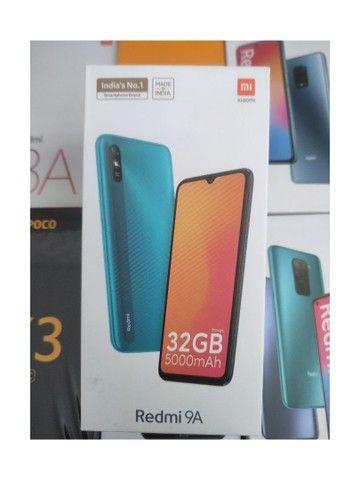 Baratinho de Pronta Entrega! Redmi 9A da Xiaomi.. Novo Lacrado