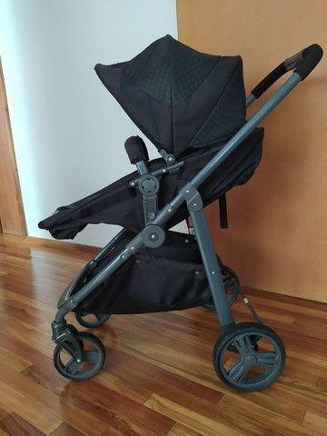 Carrinho de bebê Galzerano+ Bebê Conforto Kiddo - Foto 3