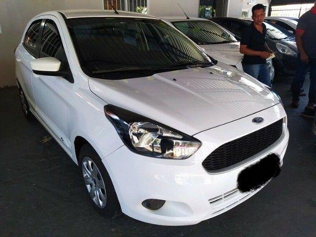 Ford KA 1.0 SE 12V Branco 2015 - Foto 2