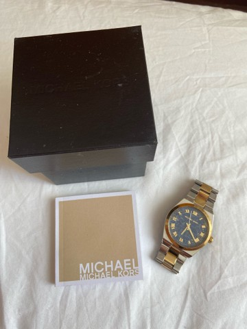 Relógio Michael kors silver gold - Foto 4