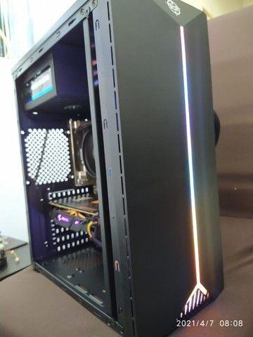 Super PC Ryzen 5 2600 RX 570 Aorus 16gb SSD 256gb - Foto 2