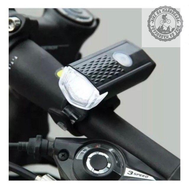 Promoção Farol lanterna de LED para bicicleta  - Foto 2