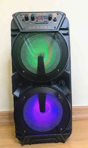 Caixa de som KTS 1131 com controle e microfone - Foto 5