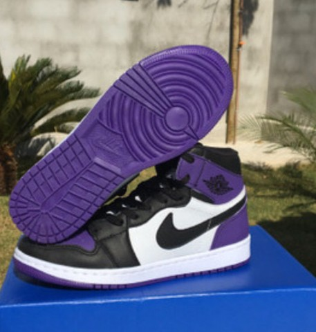 Air Jordan 1 Court Purple  - Foto 3