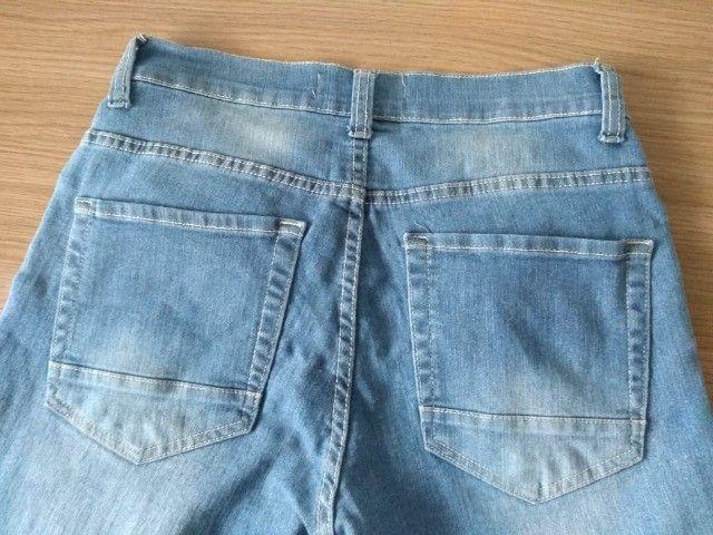 Calça Jeans Azul - Tam 40 (Veste 38) - Foto 4