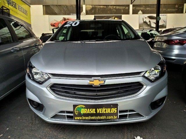 Chevrolet Onix 1.0 Flex 2020 Completo ( Aceitamos troca e financiamos ) - Foto 4