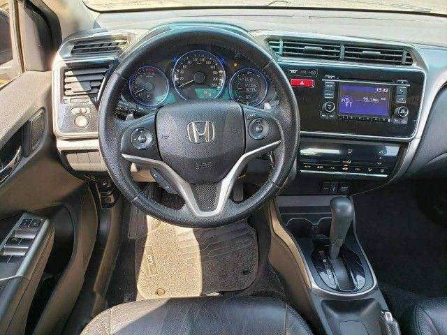 Honda City Automatico e Couro 2016 - Foto 2