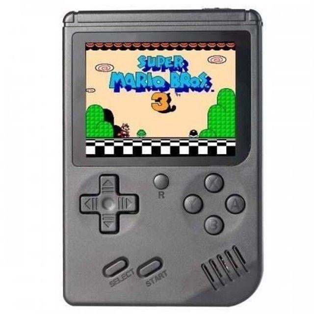 Mini Game Boy retro Portátil 400 Jogos com saida rca - Foto 4