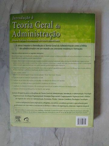 """Livro """"Teoria geral da Administração""""  - Foto 3"""