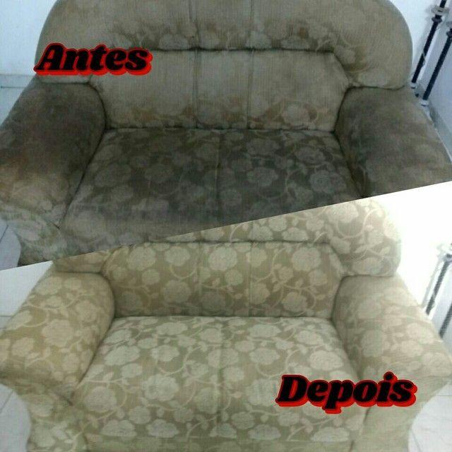 Higienização de estofados a domicílio - Foto 2