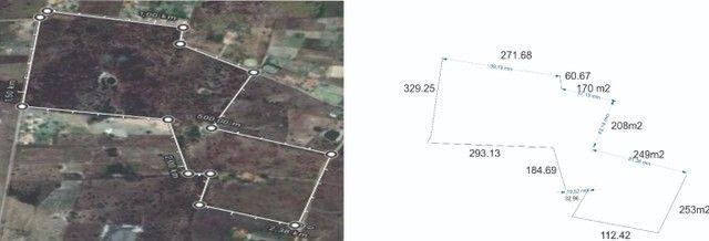 20 hectares  há 03  km no Trem da Alegria há 170 km de Salvador