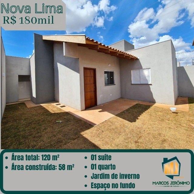 Vendo Casa com Suíte no Nova Lima.