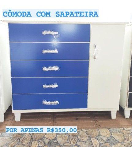 COMODAS COM SAPATEIRA NOVA