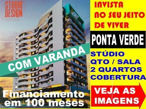 Quarto/Sala Com Varanda - Próximo Praça Lyons