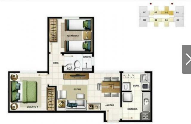 Apartamento à venda com 2 dormitórios em Cinquentenário, Belo horizonte cod:2141 - Foto 12
