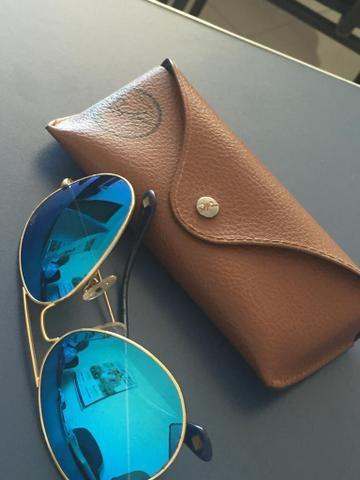 659bcb6fc Ocolos Ray-ban espelhado azul - Bijouterias, relógios e acessórios ...
