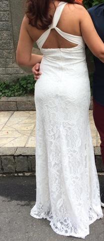 e744c4c9b Vestido longo off White noiva casamento - Roupas e calçados - Jardim ...