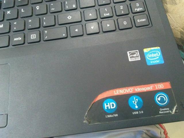 Lenovo IdeaPad 100 tela quebrada - Computadores e acessórios