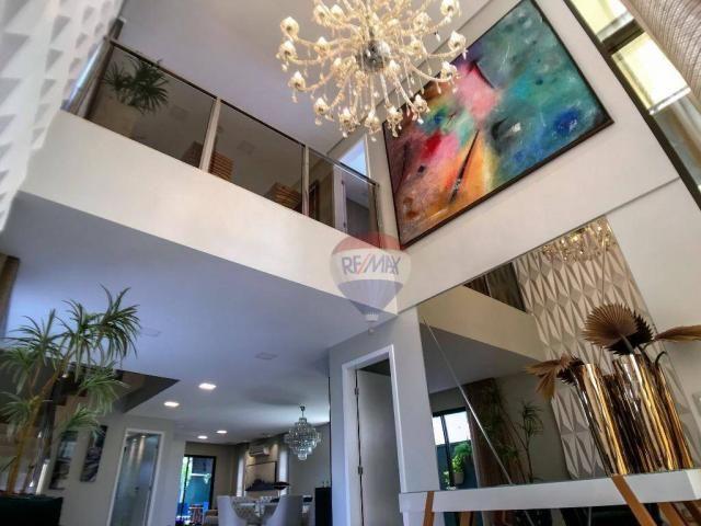 Casa com 3 dormitórios à venda, 337 m² por R$ 2.100.000 - Condomínio Alphaville Fortaleza  - Foto 6
