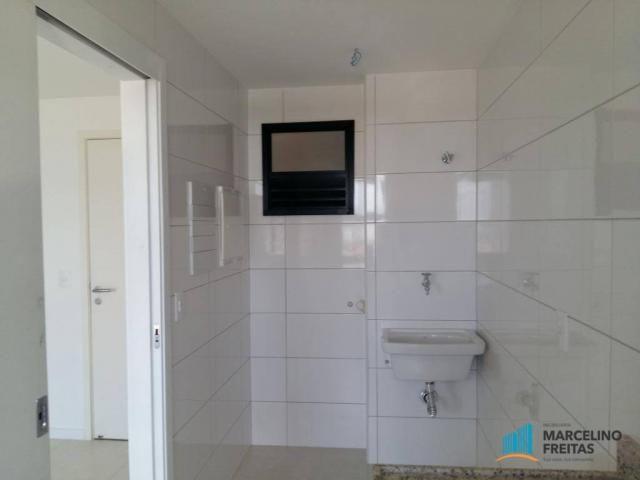 Apartamento com 2 dormitórios para alugar, 72 m² por r$ 1.509,00/mês - engenheiro luciano  - Foto 8