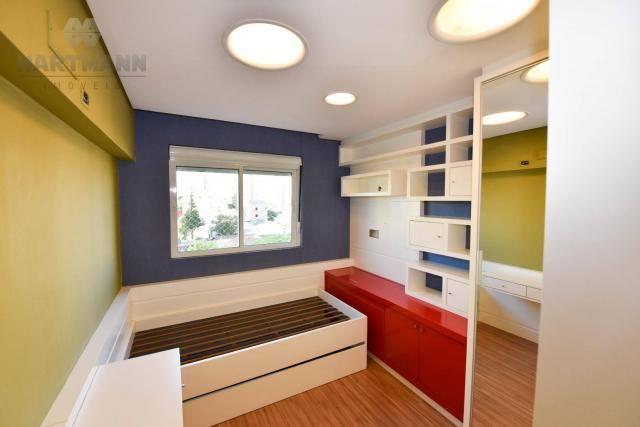 Apartamento com 3 dormitórios à venda por r$ 749.500,01 - juvevê - curitiba/pr - Foto 8