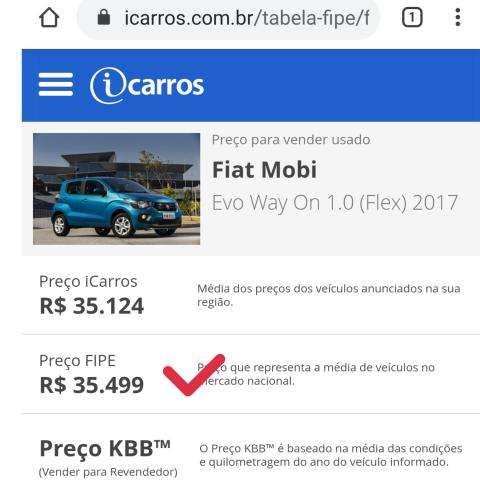 Fiat Mobi Way On 2016/2017!!! 31.000!!!! - Foto 15