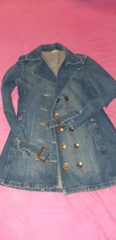 Casaco jeans, tamanho P - Foto 3